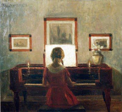Girl at Piano