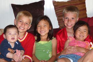 All Five Kids Lisa's Blog KOKO Living