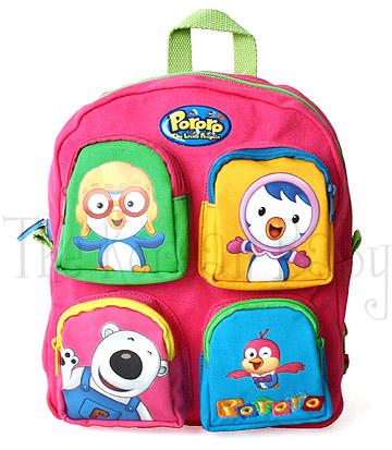 Pororo backpack_pink