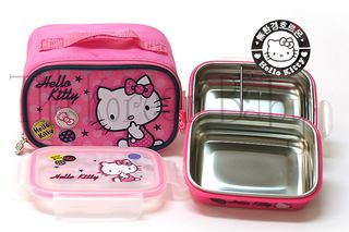 Hello kitty stainless 2 tier