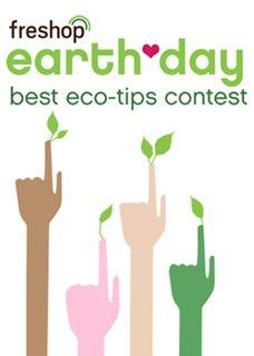 Freshop Eco-Tips Contest