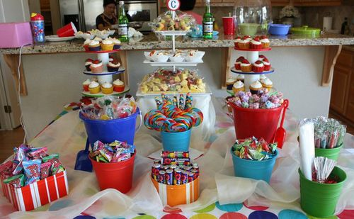 Baby dol first birthday decorations for Baby welcome party decoration ideas