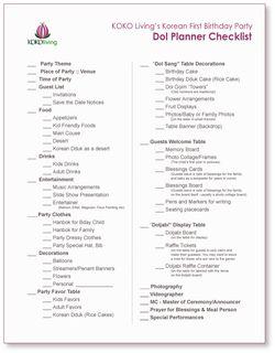 Dol-Planner-Checklist