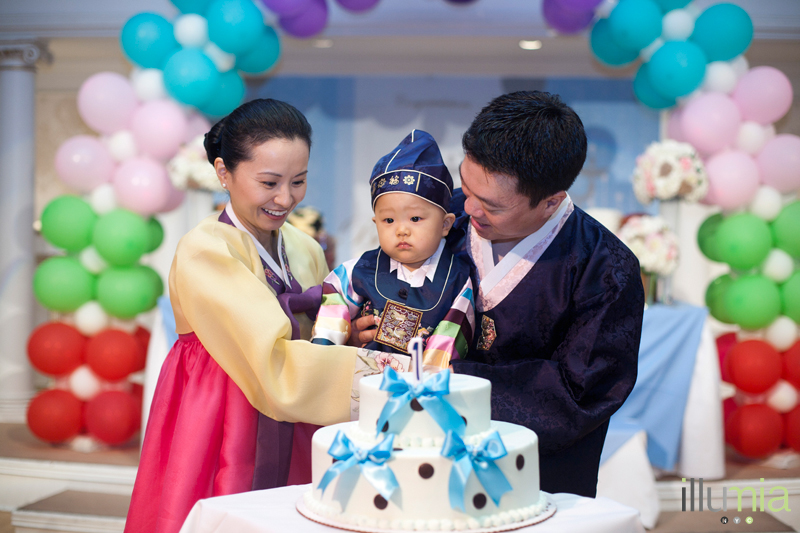 Ryans Korean 1st Birthday Party Dol Dohl Baby Dol First