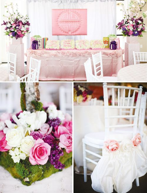 Cultural-first-birthday-celebration-pink-flowers-chairs-table-11
